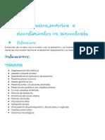 Cesarea Pomeroy y Procedimientos en Ginecologia Clase