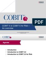 Cobit 5 & Cobit 5 for Risk