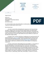Letter To MTA Regarding Open Meetings Law