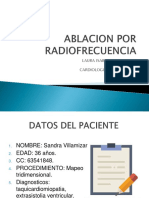 ablacion por radiofrecuencia
