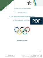 Reglamento Juegos Nacionales Sena 20-03-2019