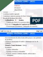 Brasil Colônia -- Revoltas (slides)