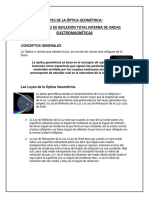 Leyes de La Óptica Geométrica