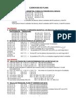 Ejercicios de Geometria Descriptiva