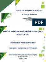 04h Productividad IPR Pozos de Gas I2019