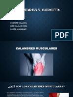 bursitis y calambres..pptx