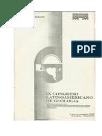Aspectos Geologicos e Correlacao Do Grupo Itapucumi Na Regiao Do Alto Paraguai e Grupo Corumba No Brasil