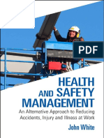 [White, John] Health and Safety Management
