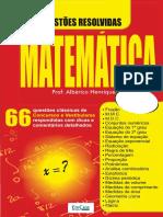 Matemática.66.Questões.resolvidas.2019