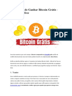 5 Maneiras de Ganhar Bitcoin Grátis