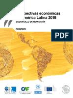 PERSPECTIVAS ECONOMICAS DE AMERICA LATINA 2019