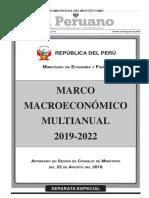 Bcr. Proyecciones Mmm 2019 2022