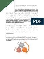 Cómo Puede Impulsar El Estado La Participación Del Sector Privado en Los Asuntos de Las Decisiones Públicas