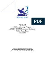 Pedoman JSPS DGRSTHE Joint Research Projects 2020 FINAL