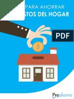 consejos para ahorrar en el hogar pdf