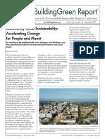 Community Scale Sustainability