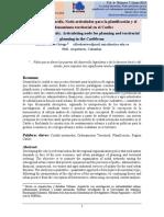 La ciudad intermedia. Nodo articulador para la planificación y el ordenamiento territorial en el Caribe - Revista Arquitectura+ Alfredo Otero