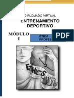 Guía Didáctica 1 Ética Profesional Entrenamiento