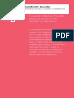 Evaluación formativa - Retroalimentación