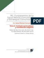 1.08 Contexto Sociocultural y Constitución Subjetiva - Lodieu Et Al.
