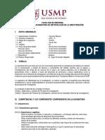 05 Silabo de Metodologia de La Investigacion 2019-II