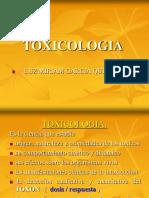 TOXICOLOGIA INTRODUCCION