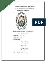 273063093 BALANCE de MASA Y ENERGIA Elaboracion de Galletas de Avena