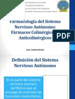 Farmacología Del Sistema Nervioso Autónomo (1)