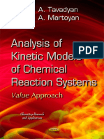 Analysis of Kinetic Models of Chemical Reaction Systems