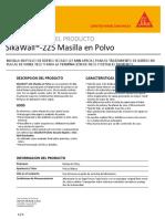 SikaWall 225 Masilla en Polvo