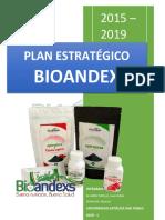 Planeamiento estratégico para Bioandex Perú d.e.