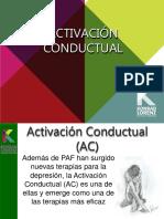activación conductual .pptx