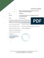 CIRCULAR 003-2019. Salarios Mínimos Sector Privado No Sectorizado