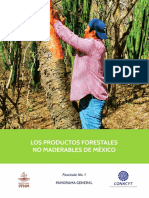 Los Productos Forestales No Maderables de Mexico-29 Nov 2018