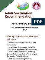 Vaksinasi dewasa