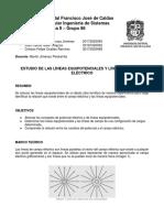 Laboratorio 1, Líneas Equipotenciales de Campo (Desarrollo).docx