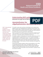 Amnioinfusion for Oligohydramnios During Pregnancy PDF 305979085