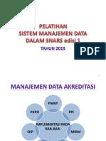 Materi Pelatihan Manajemen Data