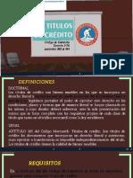 Títulos de Crédito Guatemala