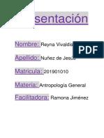 Antropologia General Tarea 1