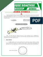 Teoria Atomica Para Segundo de Secundaria
