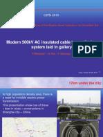Nexans 500 kV Cable