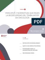 bioseguridad oncologica