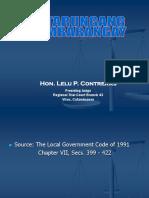 Katarungang Pambarangay a Lecture Series-shorter Version