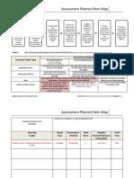assessment planner item map rise