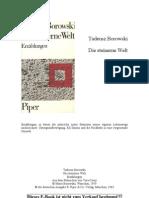 Borowski, Tadeusz - Die Steinerne Welt