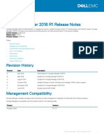 Dell Storage Manager 2018 R1.20