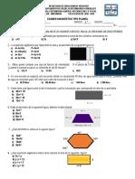 Exam Diagn. PLANEA Mat III 19 20