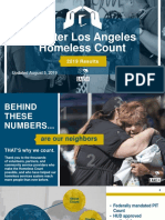 2019 Greater Los Angeles Homeless Count Presentation