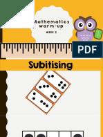 mathematics warm-up wk2